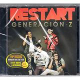 restart-restart Cd Restart Generacion Z Importado Em Espanhol Novo Lacrado