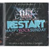 restart-restart Restart Cd Happy Rock Sunday Novo Lacrado Original