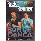 rick e renner-rick e renner Rick Renner Dvd Cd Bom De Danca Vol 2 Novo Original