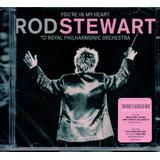 rod stewart-rod stewart Cd Duplo Rod Stewart With The Philharmonic Orquestra