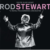 rod stewart-rod stewart Cd Rod Stewart youre In My Heart The Royal Philharmo 2 Cds