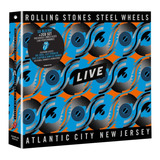 rolling stones-rolling stones The Rolling Stones Steel Wheels Live Atlantic City Cd Bluray