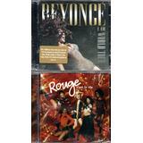 rouge-rouge Cd Dvd Beyonce I Am World Tour Cd Rouge Cest La Vie