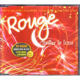 rouge-rouge Cd Rouge Brilha La Luna Single Promocional Novo Lacrado Raro