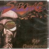 sabotage-sabotage Cd Sabotage Rap E Compromisso