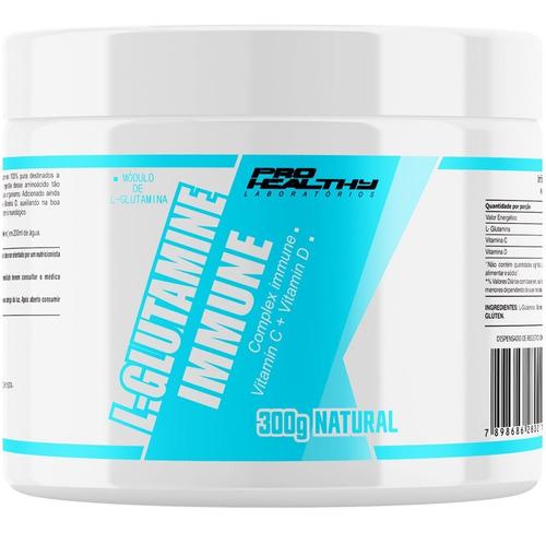 shakira-shakira Glutamina Vitamina C D 100 Pura 300g Pro Healthy
