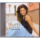 shania twain-shania twain Cd Shania Twain Greatest Hits Novo Lacrado