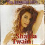 shania twain-shania twain Cd Shania Twain The Essential Hits