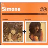 simone-simone Cd Duplo Simone Cigarra Pedacos Novo
