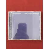 simple minds-simple minds Cd Simple Minds Real To Real Cacophony Import Semin