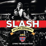 slash-slash Slash Living The Dream Tour Digipack Blu Ray 2 Cds La
