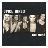 spice girls-spice girls Cd Lacrado Importado Single Spice Girls Too Much radio Edit