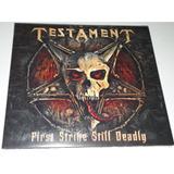 strike-strike Testament First Strike Still Deadly cd Digipak
