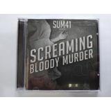 sum 41-sum 41 Cd Sum 41 Screaming Bloody Murder