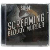 sum 41-sum 41 Sum41 Screaming Bloody Murder Cd Nacional Ano 2011 Frete 15