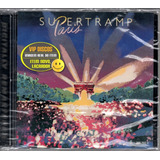 supertramp-supertramp Cd Supertramp Paris Duplo Remaster Original Lacrado Raro