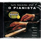 temas de filmes-temas de filmes Cd O Pianista Temas Do Filme Novo Original Lacrado