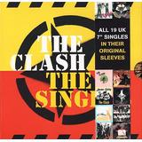 the clash-the clash The Clash The Singles Box 19 Cds Importados Novos Retira No