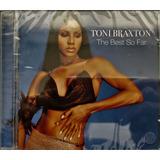toni braxton-toni braxton Cd Toni Braxton The Best Of So Far lacrado
