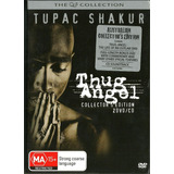 tupac shakur-tupac shakur Tupac Shakur Thug Angel 02 Dvds 1 Cd Collectors Edition