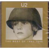 u2-u2 Cd U2 The Best Of 1980 A 1990 Novo