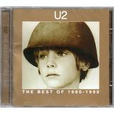 u2-u2 U2 Cd The Best Of 1980 1990 Novo Original Lacrado