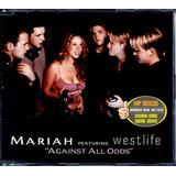 westlife-westlife Cd Mariah E Westlife Against All Odds Promo Estado Novo