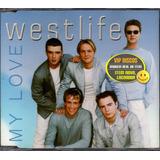 westlife-westlife Cd Single Westlife My Love Original Novo Lacrado