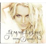 will.i.am-william Cd Britney Spears 7 Femme Fatale c William Gabi novo