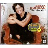 zélia duncan-zelia duncan Zelia Duncan Cd Single Promo Vi Nao Vivi 2 Versoes Lacrado
