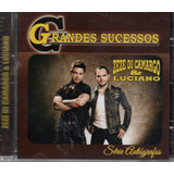 zezo-zezo Cd Zeze Di Camargo E Luciano Grande Sucessos